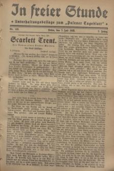 """In Freier Stunde : Unterhaltungsbeilage zum """"Posener Tageblatt"""". Jg.2, Nr. 153 (7 Juli 1928)"""