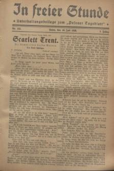 """In Freier Stunde : Unterhaltungsbeilage zum """"Posener Tageblatt"""". Jg.2, Nr. 155 (10 Juli 1928)"""