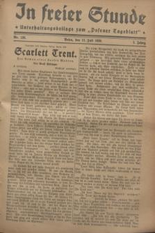 """In Freier Stunde : Unterhaltungsbeilage zum """"Posener Tageblatt"""". Jg.2, Nr. 156 (11 Juli 1928)"""