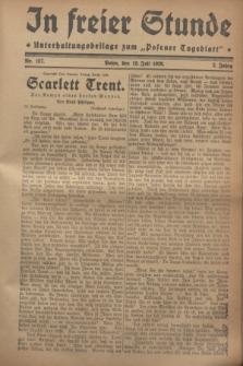 """In Freier Stunde : Unterhaltungsbeilage zum """"Posener Tageblatt"""". Jg.2, Nr. 157 (12 Juli 1928)"""