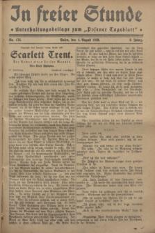 """In Freier Stunde : Unterhaltungsbeilage zum """"Posener Tageblatt"""". Jg.2, Nr. 174 (1 August 1928)"""