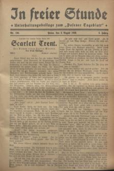 """In Freier Stunde : Unterhaltungsbeilage zum """"Posener Tageblatt"""". Jg.2, Nr. 180 (8 August 1928)"""