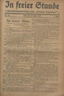 """In Freier Stunde : Unterhaltungsbeilage zum """"Posener Tageblatt"""". Jg.2, Nr. 248 (27 Oktober 1928)"""