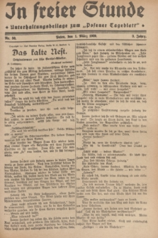 """In Freier Stunde : Unterhaltungsbeilage zum """"Posener Tageblatt"""". Jg.3, Nr. 50 (1 März 1929)"""