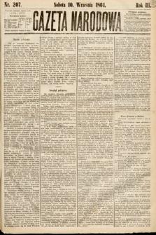 Gazeta Narodowa. 1864, nr207