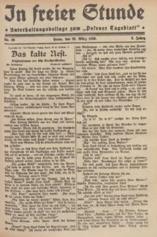"""In Freier Stunde : Unterhaltungsbeilage zum """"Posener Tageblatt"""". Jg.3, Nr. 69 (23 März 1929)"""
