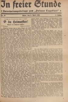 """In Freier Stunde : Unterhaltungsbeilage zum """"Posener Tageblatt"""". Jg.3, Nr. 79 (6 April 1929)"""
