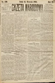 Gazeta Narodowa. 1864, nr210