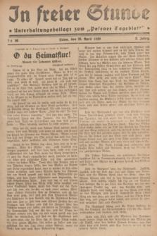 """In Freier Stunde : Unterhaltungsbeilage zum """"Posener Tageblatt"""". Jg.3, Nr. 98 (28 April 1929)"""