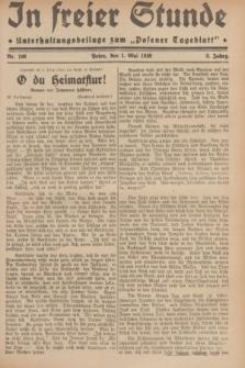 """In Freier Stunde : Unterhaltungsbeilage zum """"Posener Tageblatt"""". Jg.3, Nr. 100 (1 Mai 1929)"""