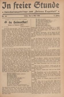 """In Freier Stunde : Unterhaltungsbeilage zum """"Posener Tageblatt"""". Jg.3, Nr. 101 (2 Mai 1929)"""