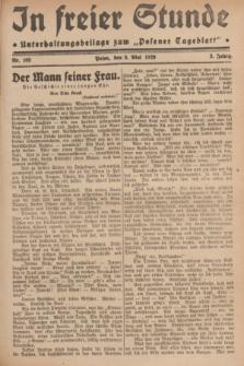 """In Freier Stunde : Unterhaltungsbeilage zum """"Posener Tageblatt"""". Jg.3, Nr. 103 (5 Mai 1929)"""