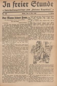 """In Freier Stunde : Unterhaltungsbeilage zum """"Posener Tageblatt"""". Jg.3, Nr. 106 (9 Mai 1929)"""