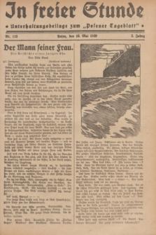 """In Freier Stunde : Unterhaltungsbeilage zum """"Posener Tageblatt"""". Jg.3, Nr. 113 (18 Mai 1929)"""