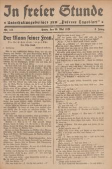 """In Freier Stunde : Unterhaltungsbeilage zum """"Posener Tageblatt"""". Jg.3, Nr. 114 (19 Mai 1929)"""