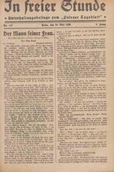 """In Freier Stunde : Unterhaltungsbeilage zum """"Posener Tageblatt"""". Jg.3, Nr. 117 (24 Mai 1929)"""