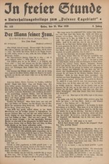 """In Freier Stunde : Unterhaltungsbeilage zum """"Posener Tageblatt"""". Jg.3, Nr. 118 (25 Mai 1929)"""