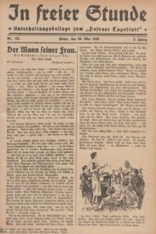 """In Freier Stunde : Unterhaltungsbeilage zum """"Posener Tageblatt"""". Jg.3, Nr. 122 (30 Mai 1929)"""