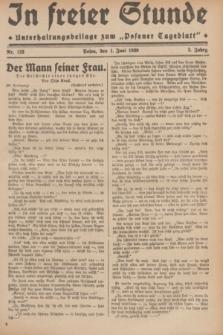 """In Freier Stunde : Unterhaltungsbeilage zum """"Posener Tageblatt"""". Jg.3, Nr. 123 (1 Juni 1929)"""