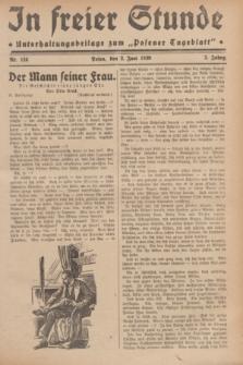 """In Freier Stunde : Unterhaltungsbeilage zum """"Posener Tageblatt"""". Jg.3, Nr. 124 (2 Juni 1929)"""