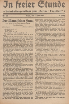 """In Freier Stunde : Unterhaltungsbeilage zum """"Posener Tageblatt"""". Jg.3, Nr. 125 (4 Juni 1929)"""