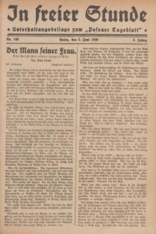 """In Freier Stunde : Unterhaltungsbeilage zum """"Posener Tageblatt"""". Jg.3, Nr. 126 (5 Juni 1929)"""