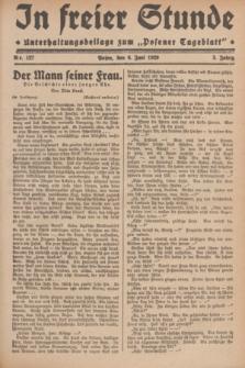 """In Freier Stunde : Unterhaltungsbeilage zum """"Posener Tageblatt"""". Jg.3, Nr. 127 (6 Juni 1929)"""