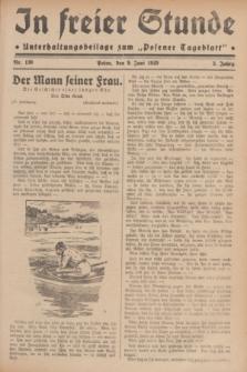 """In Freier Stunde : Unterhaltungsbeilage zum """"Posener Tageblatt"""". Jg.3, Nr. 130 (9 Juni 1929)"""