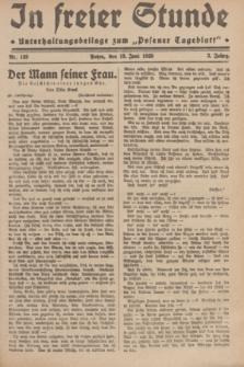 """In Freier Stunde : Unterhaltungsbeilage zum """"Posener Tageblatt"""". Jg.3, Nr. 133 (13 Juni 1929)"""