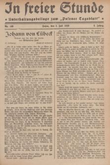 """In Freier Stunde : Unterhaltungsbeilage zum """"Posener Tageblatt"""". Jg.3, Nr. 149 (3 Juli 1929)"""