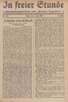 """In Freier Stunde : Unterhaltungsbeilage zum """"Posener Tageblatt"""". Jg.3, Nr. 150 (4 Juli 1929)"""