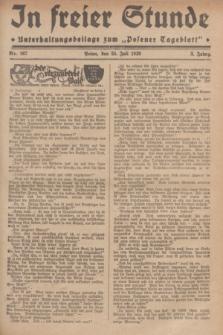 """In Freier Stunde : Unterhaltungsbeilage zum """"Posener Tageblatt"""". Jg.3, Nr. 167 (24 Juli 1929)"""