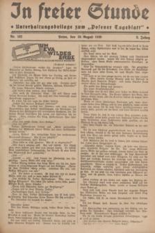"""In Freier Stunde : Unterhaltungsbeilage zum """"Posener Tageblatt"""". Jg.3, Nr. 182 (10 August 1929)"""