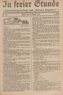 """In Freier Stunde : Unterhaltungsbeilage zum """"Posener Tageblatt"""". Jg.3, Nr. 195 (27 August 1929)"""