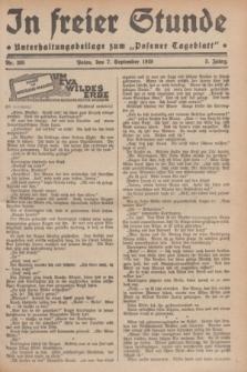 """In Freier Stunde : Unterhaltungsbeilage zum """"Posener Tageblatt"""". Jg.3, Nr. 205 (7 September 1929)"""
