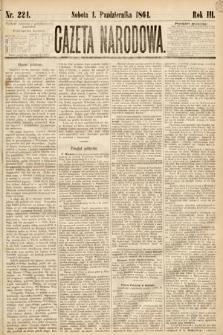 Gazeta Narodowa. 1864, nr224