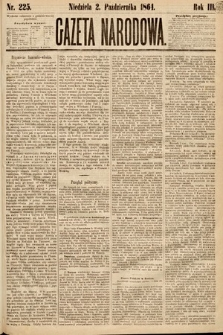 Gazeta Narodowa. 1864, nr225
