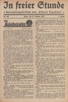 """In Freier Stunde : Unterhaltungsbeilage zum """"Posener Tageblatt"""". Jg.3, Nr. 235 (12 Oktober 1929)"""