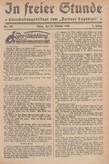 """In Freier Stunde : Unterhaltungsbeilage zum """"Posener Tageblatt"""". Jg.3, Nr. 246 (25 Oktober 1929)"""