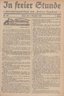 """In Freier Stunde : Unterhaltungsbeilage zum """"Posener Tageblatt"""". Jg.3, Nr. 252 (1 November 1929)"""