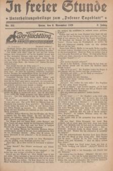 """In Freier Stunde : Unterhaltungsbeilage zum """"Posener Tageblatt"""". Jg.3, Nr. 255 (6 November 1929)"""