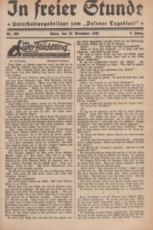 """In Freier Stunde : Unterhaltungsbeilage zum """"Posener Tageblatt"""". Jg.3, Nr. 260 (12 November 1929)"""