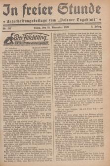 """In Freier Stunde : Unterhaltungsbeilage zum """"Posener Tageblatt"""". Jg.3, Nr. 263 (15 November 1929)"""