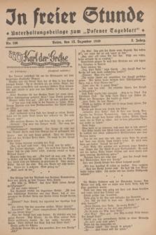 """In Freier Stunde : Unterhaltungsbeilage zum """"Posener Tageblatt"""". Jg.3, Nr. 286 (12 Dezember 1929)"""