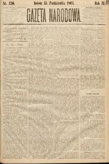 Gazeta Narodowa. 1864, nr236