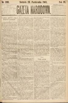 Gazeta Narodowa. 1864, nr243