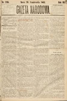 Gazeta Narodowa. 1864, nr245