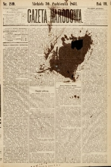 Gazeta Narodowa. 1864, nr249