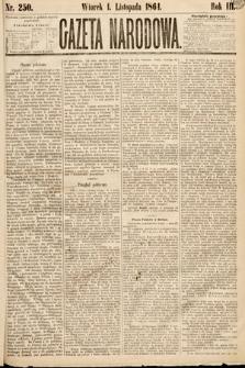 Gazeta Narodowa. 1864, nr250