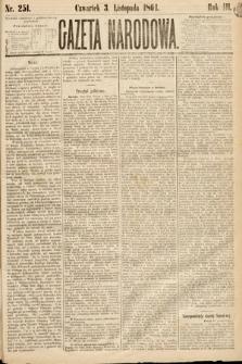 Gazeta Narodowa. 1864, nr251